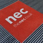 NEC ARENA double door entry mat
