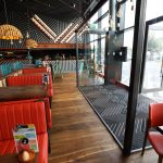 Inside of Nando's Restaurant