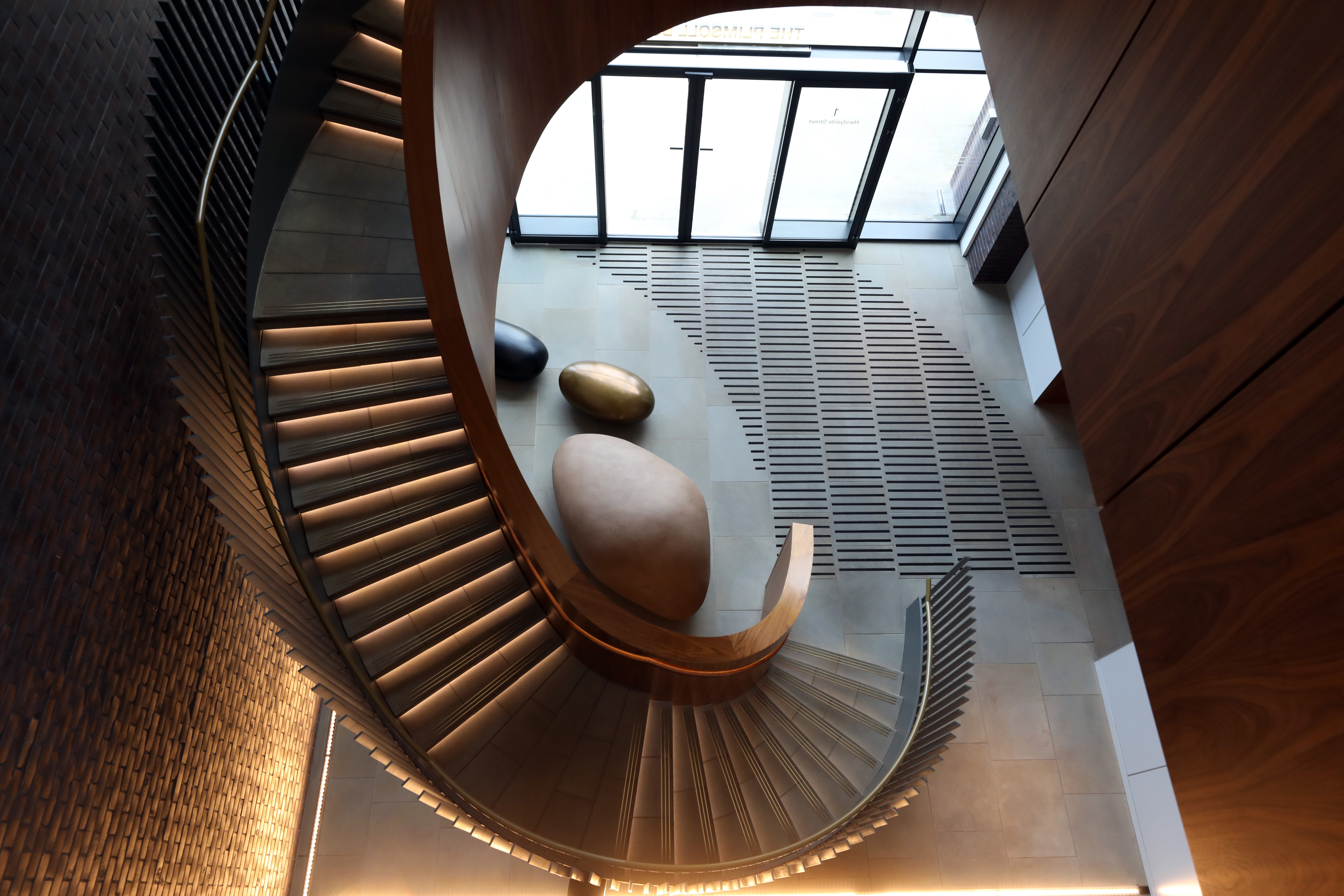 Spiral staircase, Plimsoll Building