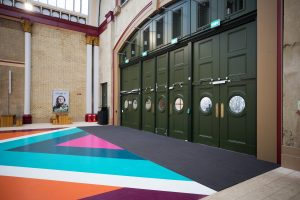 Image showing Entrance Matting at Alexandra Palace